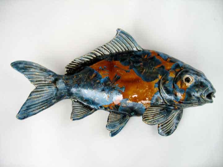 Artwork for Clay koi fish