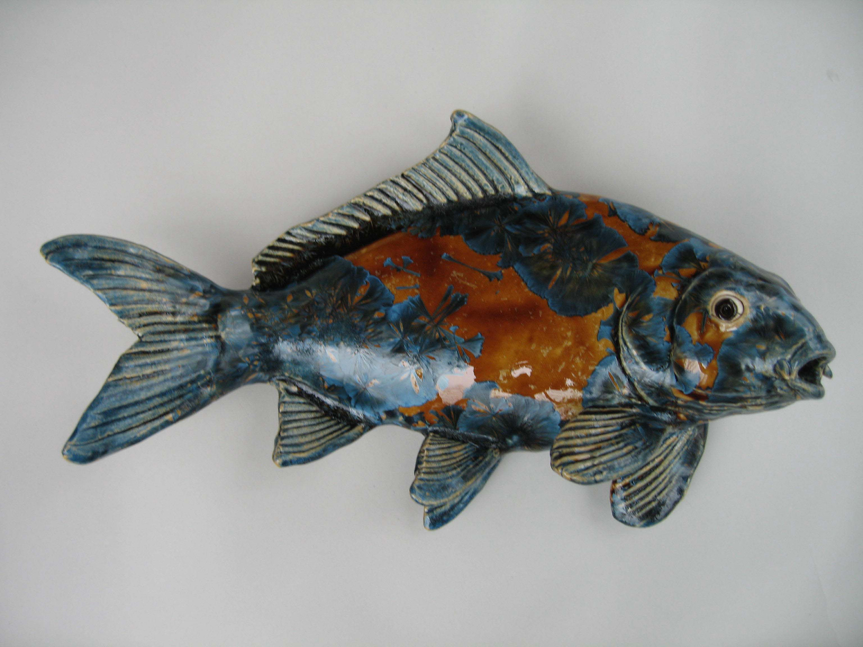 Freshwater fish alan rosemary clay studio for Freshwater koi fish